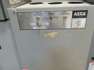 Asco Automatic Transfer Switch Group 7 Used