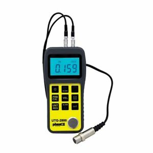 Phase Ii Utg 2800 Ultrasonic Thick Gauge With Scan Resolution 0 001