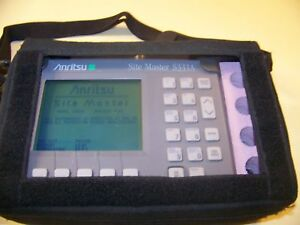 Nice Anritsu S331a Site Master Soft Case New Battery new Charger Fully Tested