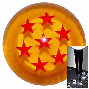 Dragon Ball Z Amber Shift Knob For Dodge Chrys Jeep Auto Stick W Blk Adapter