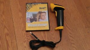 Wlr8950 Bi color Ccd Barcode Scanner W 6ft Cable 3 Mil Resolution W Software