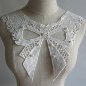 Butterfly Neckline Lace Collar Sewing Applique Yl107