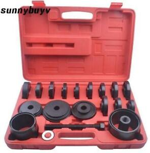 23pcs Front Wheel Drive Bearing Removal Adapter Puller Pulley Tool Kit