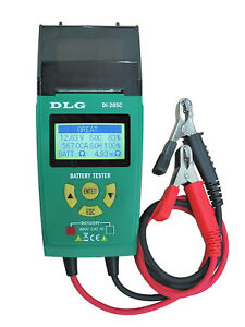 Holiday Sale di 205c 12v 24v Automotive Truck Battery Tester English And Spanish