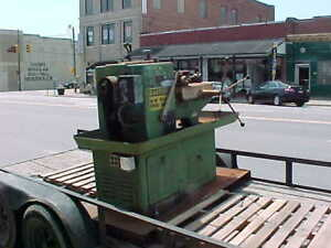 Milling Machine Turret Lathe Sold For Parts Very Rusty Take Parts Off