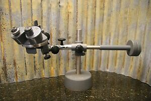 Vintage Bausch Lomb Microscope W heavy Adjustable Base Included Free Shipping