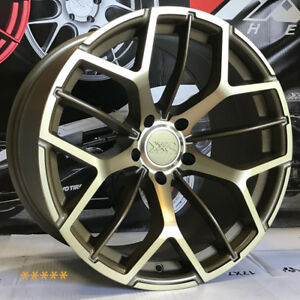 Xxr 566 Wheels 18 20 Bronze Rims Staggered 5x4 5 94 98 99 03 04 Ford Mustang Gt