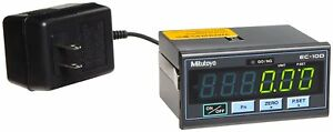 Mitutoyo 542 007a Digitmatic Display Single Axis Dro With Power Supply