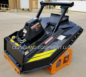 New 72 Ammbusher Ac720 Forestry Brush Cutter Mower Skid Steer Loader Bush Hog