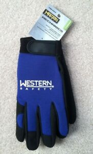 Western Safety Mechanics Gloves For Shop Lot Of 12 Pair For One Price