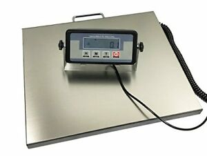 400lb Stainless Steel Platform Industrial Digital Shipping Postal Scale