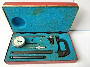 Vintage Central Tool Co Universal Dial Test Indicator No 200