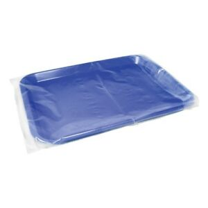 Dental Tray Sleeve Clear Plastic Box Of 500