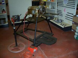 Ridgid 400a Pipe Threader Stand made In U s a vintage liquidation Sale