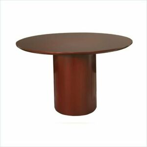 Scranton Co 48 Round Conference Table In Sierra Cherry