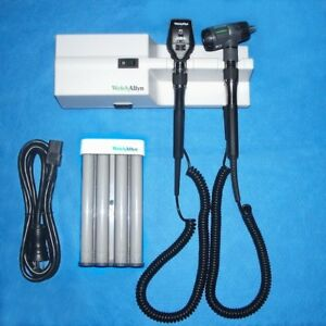 767 76710 Diagnostic Set Macroview Otoscope Coaxial Ophthalmoscope Dispenser