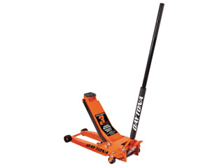 3 Ton Long Reach Low Profile Steel Heavy Duty Floor Jack Rapid Pump Garage Race