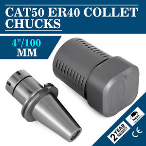 Cat50 Er40 Collet Chuck Tool Wproj 4 8 000 Rpm Hot Milling Cnc Can Lathe
