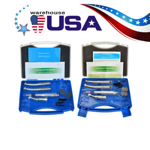 Us Nsk Pana Max Style E type Dental Air Motor 2 4h High Low Speed Handpiece Kit