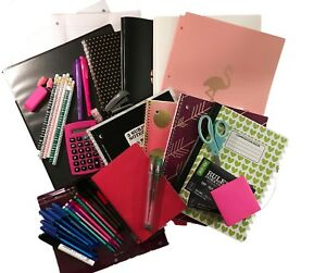 Trendy Middle School To College Back To School Complete Supply Bundle