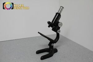 Vintage Antique Bausch Lomb Microscope Free Shipping Included