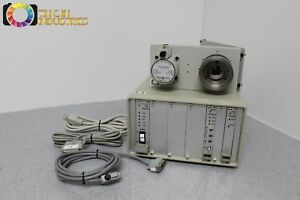 Ludl Microscope 6 Position Fluorescence Filter Holder Controller Tested