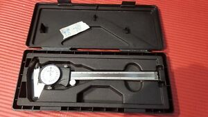 Excellent Mitutoyo 6 Inch Dial Caliper machinist Tools