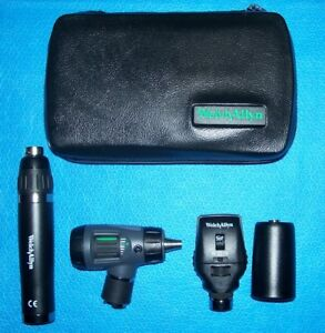 Lithium Ion Diagnostic Set 23820 Macroview Otoscope 11720 Coaxial Ophthalmoscope