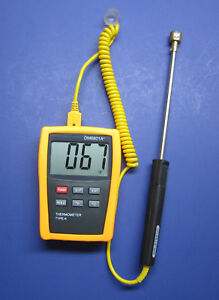 Digital K type Thermometer W Surface Thermocouple Welding And Metalworking Sf 2