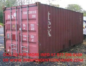 20 Cargo Container Shipping Container Storage Container In Charleston Sc