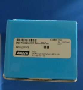 Alltech Empty Hplc Preparative Column 500 X 7mm 96502