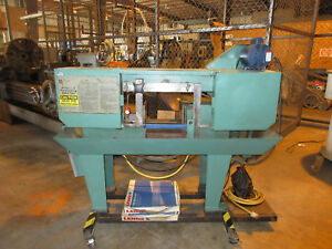 Doall Horizontal Band Saw Model C 4 Horizontal Band Saw