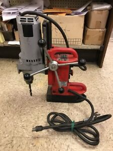 Milwaukee 4202 Electromagnetic Variable Still Press With 4262 1 Drill Motor