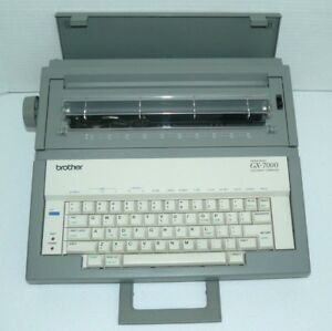 Brother Gx 7000 Correctic Electronic Typewriter Great Condition