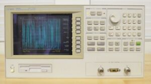 Agilent Hp 4291b Opt 002 Rf Impedance Material Analyzer 1mhz To 1 8ghz V1 03