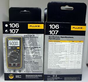 Fluke 107 Palm sized Portable handheld Digital Multimeter English Version