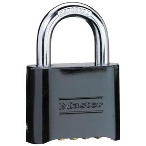 Master Lock 178d Set your own Combination Die cast Pack Of 8