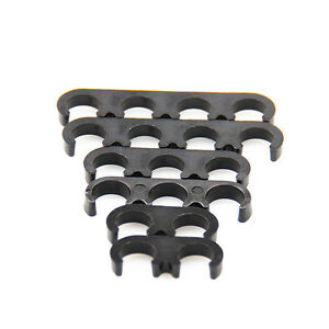 6pcs 7mm 8mm Plastic Spark Plug Wire Separators Dividers Looms For Ford Chevy