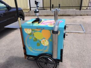 Lemonade Vending Cart