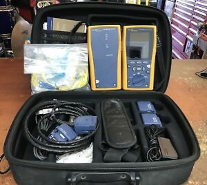 Fluke Dtx 1800 Cable Analyzer W Dtx 1800 Smart Remote Accessories