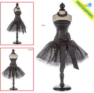 Black Mannequin Dress Form With Black Stand Decorative Home Decor