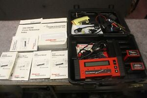 Snap On Scanner Mt2500 With Cartrdiges And Case And Book Nice