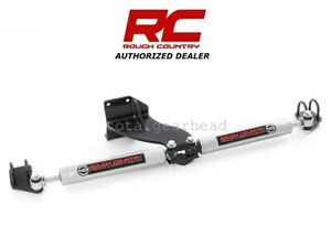 2014 2020 Ram 2500 3500 4wd Rough Country Dual Steering Stabilizer Kit 8749430
