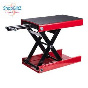 Motorcycle Dilated Scissor Lift Jack Street Bike Cruiser Stand Lifter Support