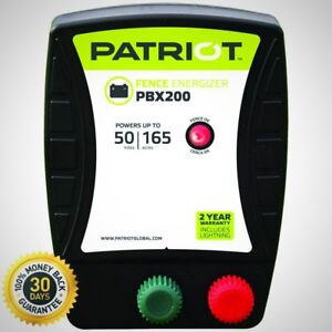Patriot Battery Electric Fence Energizer Multiple Mounting Options 1 9 Joule