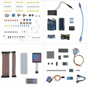 Ultimate Starter Kit For Adeept Arduino Uno R3 Lcd1602 Servo Processing Led Vp