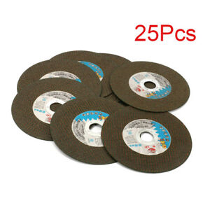 25pcs 6 Resin Cutting Wheel Grinding Disc For Iron Metal Cutting Rotary Tools