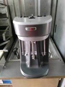 Hamilton Beach Hmd400 3 Spindle Commercial Drink shake smoothie Mixer