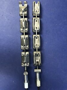Evac Nw25 Chain Clamp Lot Of 2