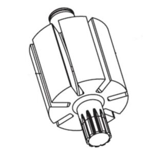 Ingersoll Rand 2135 53 Rotor For 2135ti